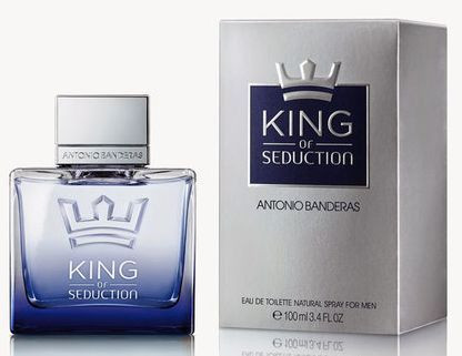 Мужские духи Antonio Banderas King Of Seduction edt 100ml