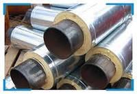 Труба стальная в оцинкованной (SPIRO) оболочке 76/140