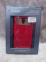 Кожаный чехол-флип ICARER для Samsung Galaxy S4 mini, фото 1