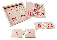 Настольная игра Домино - Числа и цифры