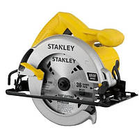 Пила циркулярная ручная STANLEY STSC1618 1600 Вт, диск 18 5мм, 5500 об/мин, макс.62 мм, регулировка угла 0-45°