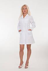 Медицинский женский халат с длинными рукавами