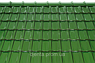 Керамическая черепица TONDACH Мулде травянисто-зеленая глазурь F421y, фото 2