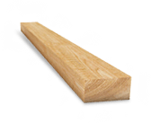 Брус обрезной сосна, 1 сорт, сухой, 90*160мм., нестроганая