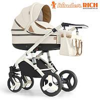 Детская универсальная коляска 2 в 1 Kinder Rich Marathon Milky