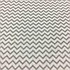 Ткань с серым мини-зигзагом, ширина 160 см