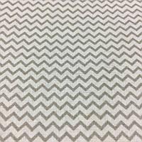 Ткань с серым мини-зигзагом, ширина 160 см, фото 1