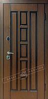 Двери входные в квартиру ТМ Двери Украины модель Квадро  Белорусский Стандарт 2 Комплектация 1
