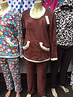 Женский домашний костюм,пижама  (махра) 42-48р.