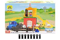 """Конструктор """"Happy farm"""" 41дет. в кор. 37,5*10*25,5 см. /24/(HG-1363)"""