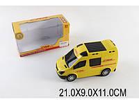 Машина на батар. Почта, свет, звук, в кор. 21х9х11 /96/(874)