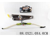Лук со стрелами и лазерным прицелом в п/э 88х21х4 /24/(9822-43)