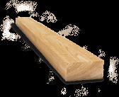 Брус обрезной сосна, 1 сорт, антисептированный, 150*180мм., нестроганая
