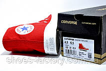 Кеды в стиле Converse женские, фото 3