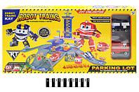 """Паркинг """"Robot Trains"""" с машинками в кор. 49,5*26,5*6,5 см. /24/(ZY-646)"""