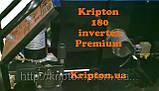 Сварочный полуавтомат Инверторный  Kripton 180 premium (INVERTEX), фото 4