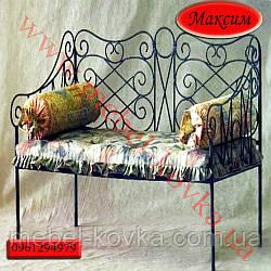 """Кованый диван """"Максим"""" (мягкую часть просчитывать отдельно)"""