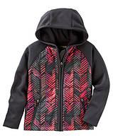Спортивная куртка для девочки Графити