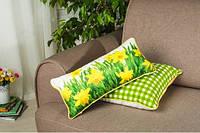 Подушка декоративная Пасхальная Нарцисс