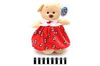 Мишка в платье 25 см. /72/(6795/25)