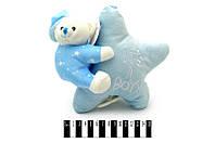 Мишка на подушке-звездочка 22 см. /84/(7757-22)