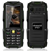 VKWorld V3 IP67 Водонепроницаемый Противоударный Пылезащитный c мощным фонариком !!! (Power Bank)