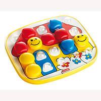 Развивающие и обучающие игрушки «Quercetti» (4405-Q) набор мозаики FantaColor Baby, 24 фишки и доска
