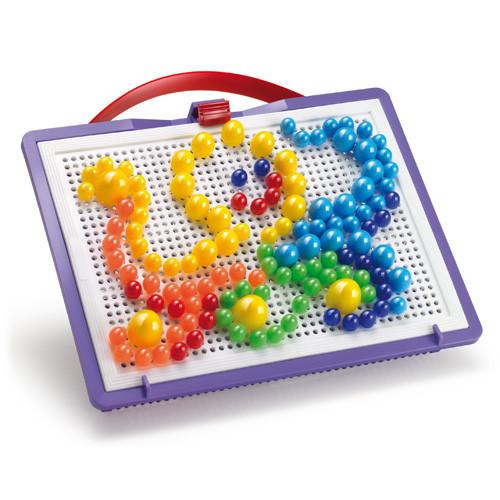 Развивающие и обучающие игрушки «Quercetti» (0920-Q) набор мозаики FantaColor Portable, 160 фишек и доска