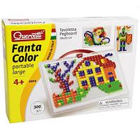 Развивающие и обучающие игрушки «Quercetti» (0954-Q) набор мозаики FantaColor Portable , 300 фишек и доска