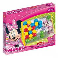 Развивающие и обучающие игрушки «Quercetti» (4200-Q) набор мозаики FantaColor Junior Minnie, 48 фишек и доска