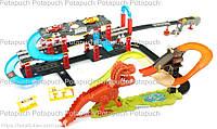 Детский автотрек с запуском Динозавр 8899-93