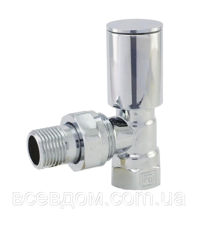 Кран радиаторный угловой верхний FADO Хром 1/2''