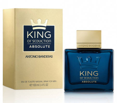 Мужские духи Antonio Banderas King Of Seduction Absolute edt 100ml, фото 2
