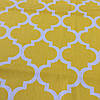 Ткань с узором Марокко желтого цвета