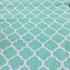 Ткань с узором Марокко мятного цвета