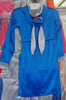 Детский халат с ушками