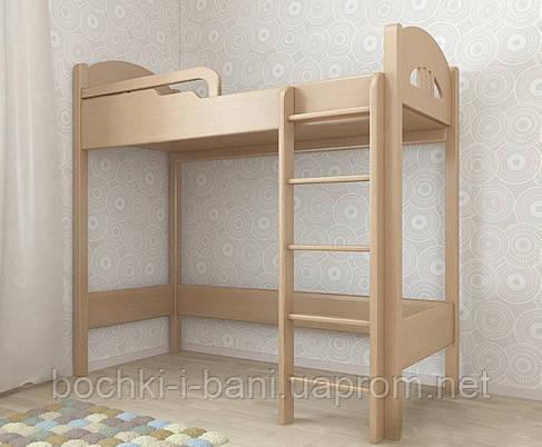 Кровать-чердак из массива, фото 2