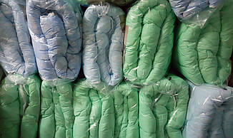 Одеяло полуторное микрофибра холофайбер 150*210 (5041) TM KRISPOL Украина, фото 2