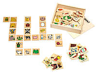 Настольная игра для детей - Сложи цепочку