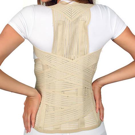Бандаж для грудного и поясничного отделов ( дышащий с дополнительными ремнями) ARMOR ARC330K, фото 2