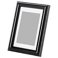 Фоторамка черная для фотографий 13х18 см.