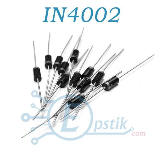 Диод выпрямительный 1N4002 IN4002 1A 100В DO-41