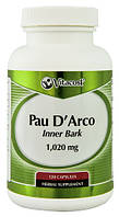 Pau D 'Arco  кора муравьиного дерева 500 мг 120 капс