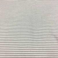 Ткань с мелкой серой полоской на белом фоне, фото 1