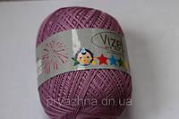 Детская пряжа для ручного вязания хлопок с вискозой