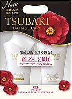 Набор Shiseido Tsubaki  Damage Care  Шампунь (500мл)+ Кондиционер (500мл)