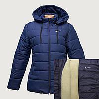 Куртка зимняя найк на овчине