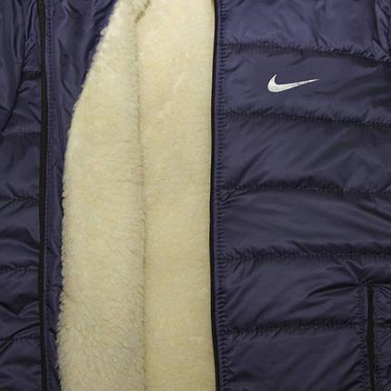 Куртка зимняя найк на овчине, фото 2