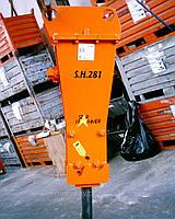 Гидромолот  330 кг на JCB 3CX