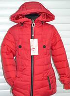 Весенняя стёганная куртка для девочек подростков